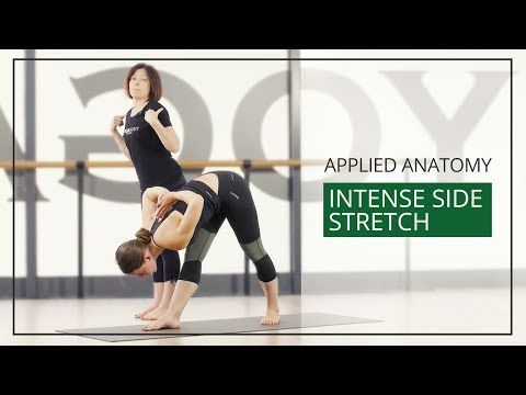 applied anatomy for yoga teachers intense side stretch