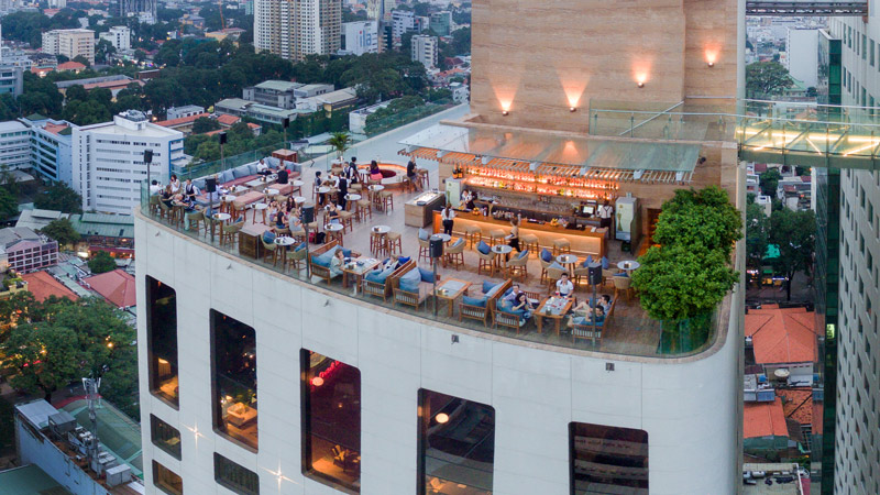 Saigon Social Club Rooftop Bar Hotel Des Arts Saigon