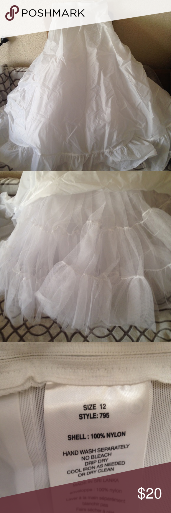Tulle underskirt Great underskirt to give any dress that extra ...