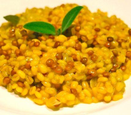 Ricetta barley and lentils with saffron - Cucchiaio d'Argento