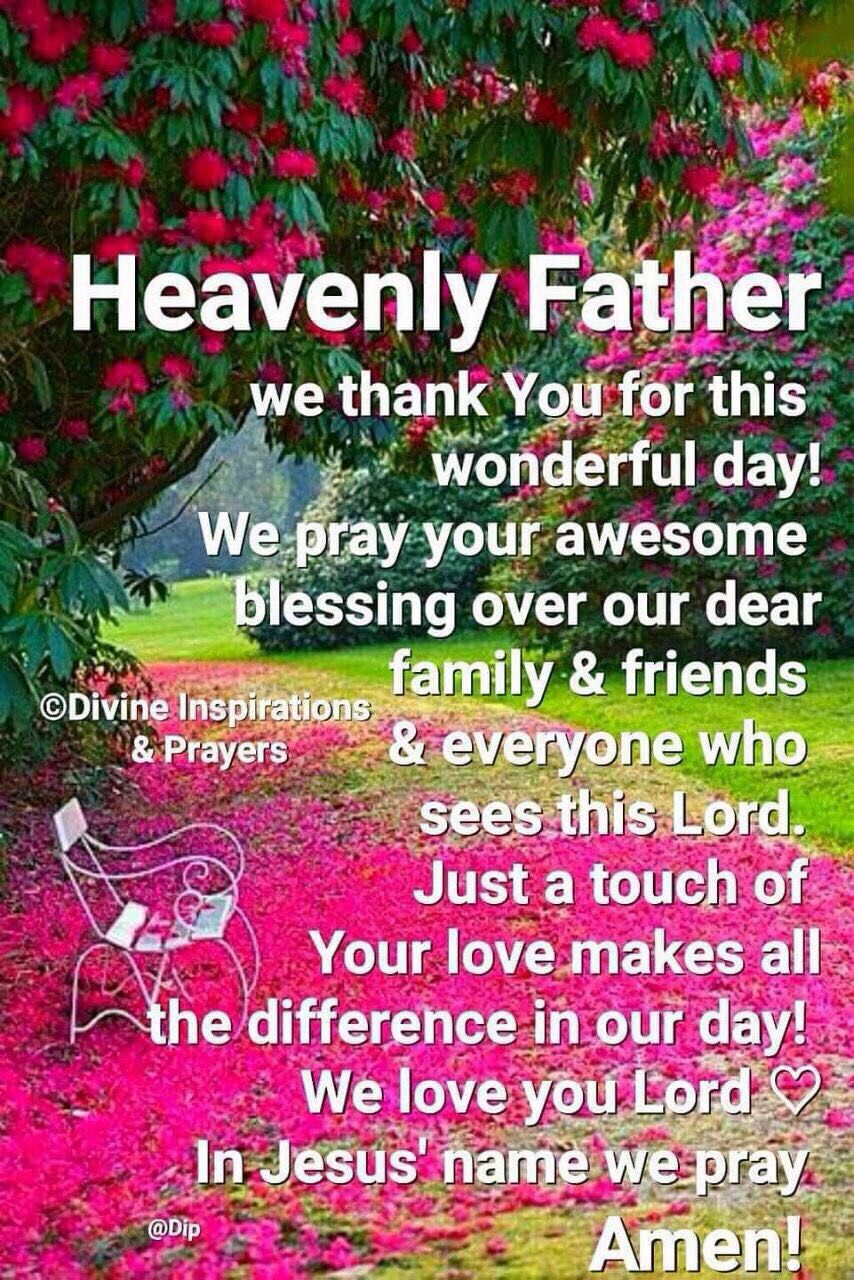 A prayer for evening  Divine inspiration and prayers, Good