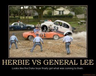 Herbie Vs The General Lee Famous Vehicles General Lee My Dream Car
