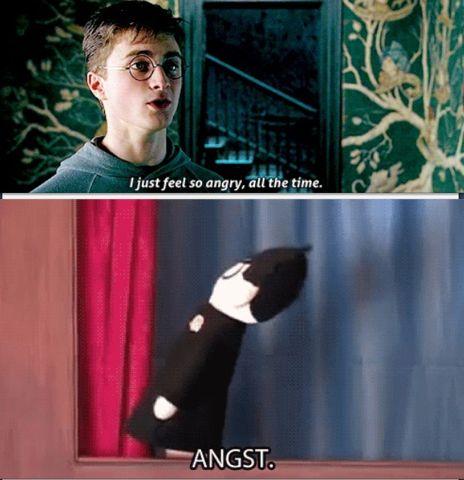 Harry Potter. Angst.