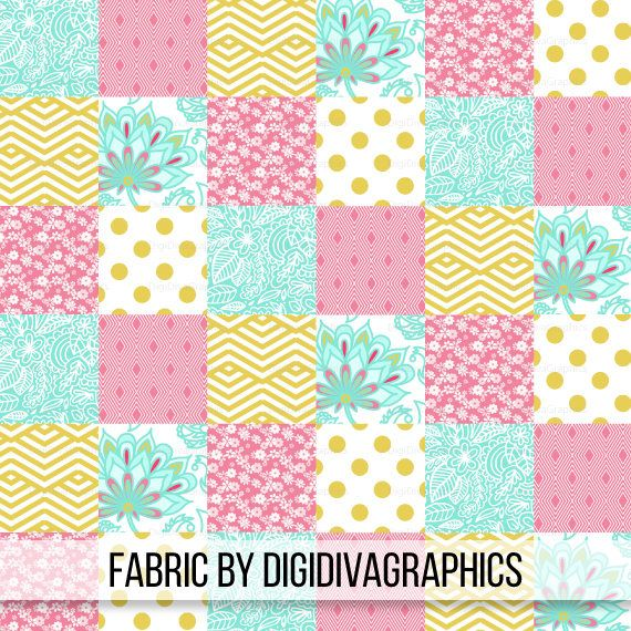 Gold Pink Floral Cheater Quilt Fabric By The Yard - Baby Girl ... : nursery quilt fabric - Adamdwight.com