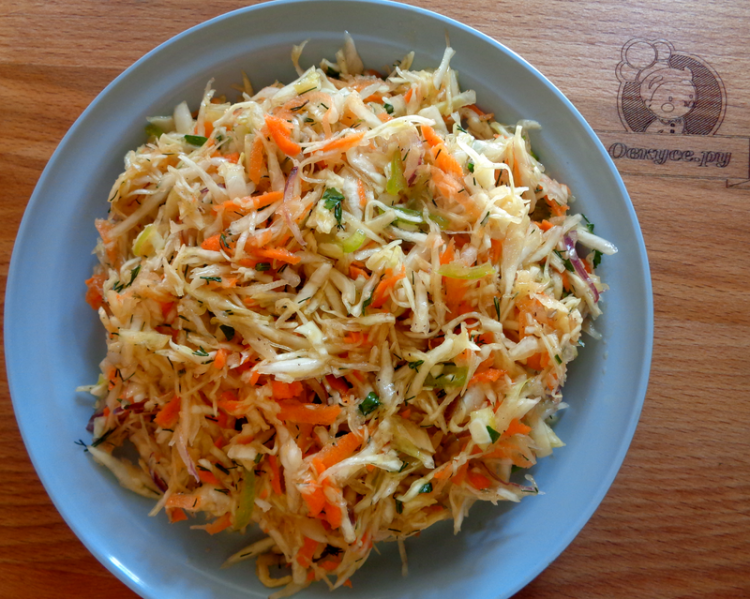 Салат витаминный рецепт с картинкой