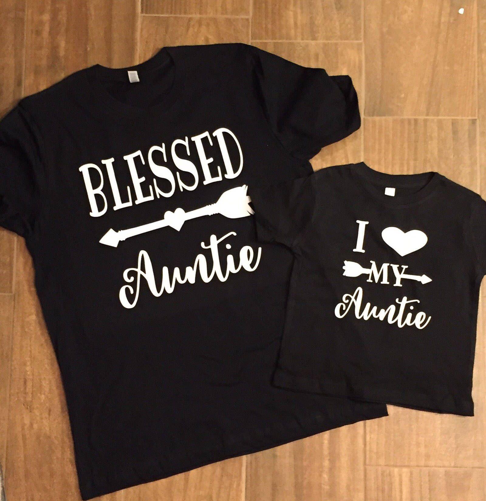 fb947e6e52c8 #blessedauntie #matching #auntlife #auntiebear #auntie #niece #nephew
