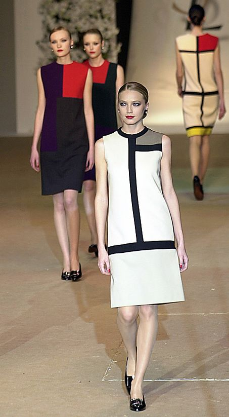 Yves Saint Laurent Fashion   ... Yves Saint Laurent's farewell show at the Georges Pompidou Center in