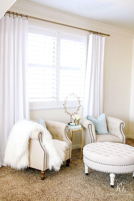 Elegant Romantic Bedrooms: Elegant Master Bedroom Makeover - Dark To Light