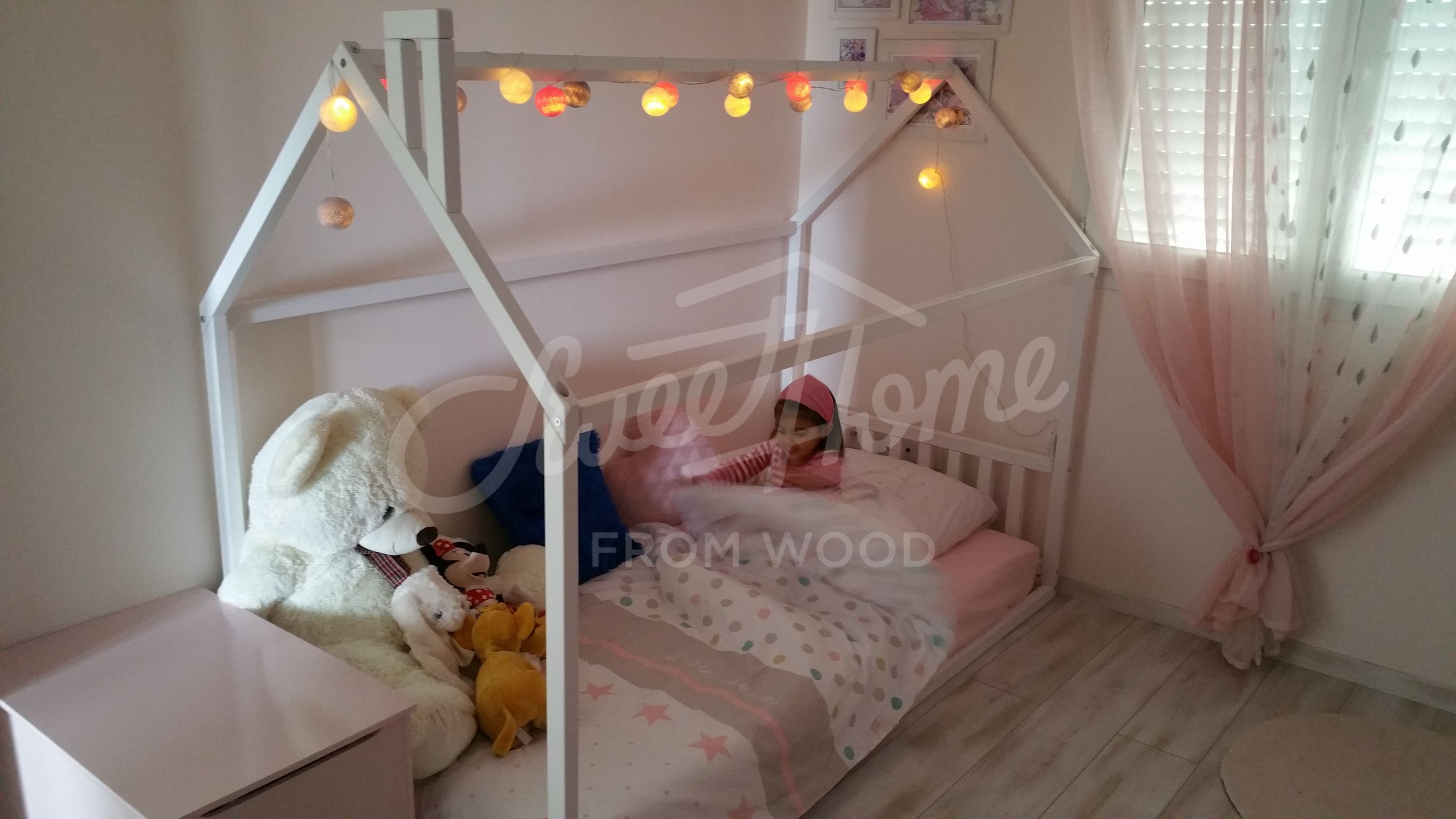 Baby Bed Montessori Bed House Bed Children Bed Toddler Bed Etsy