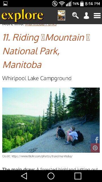 Whirlpool Lake campground