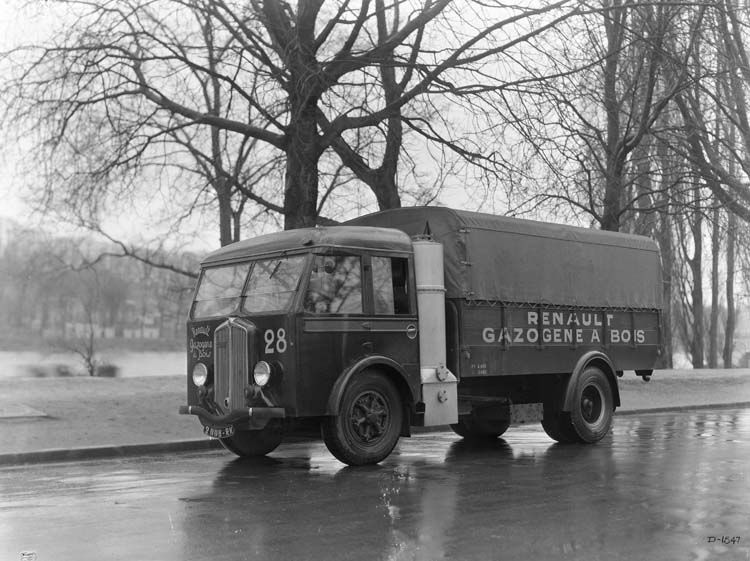 camion renault gazog ne type abf 85 cv 5 tonnes 1936 renault communication photographe. Black Bedroom Furniture Sets. Home Design Ideas