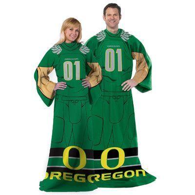 Northwest Co. NCAA Oregon Fleece Comfy Throw