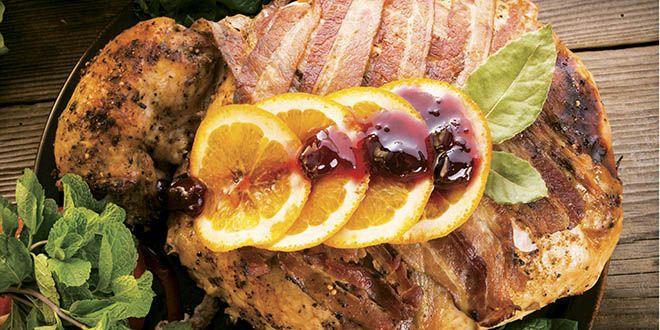 Receta De Pavo Al Horno Con Vino Tinto Y Verduras Y Hierbas Aromaticas Recetas De Comida Recetas Con Pavo Comida