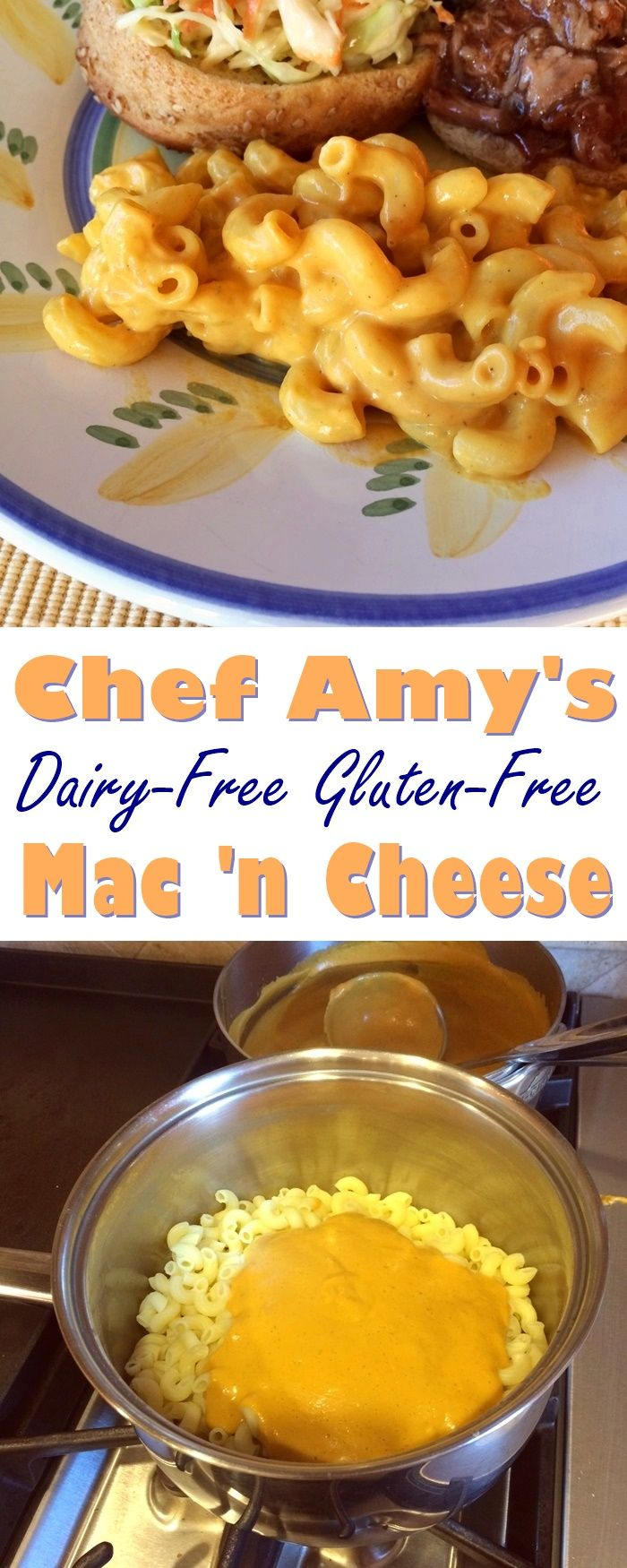 Chef Amy S Gluten Free Macaroni W Dairy Free Cheese Recipe Recipe Dairy Free Recipes Dairy Free Dairy Free Cheese Recipe