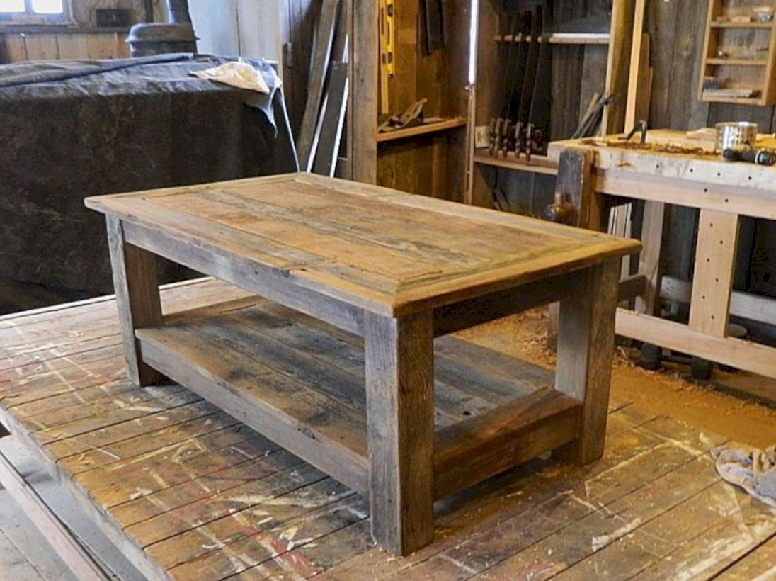 46 Fantastic Coffee Table Decor Ideas With Rustic Style Coffee Table Coffee Table Wood Rustic Coffee Tables