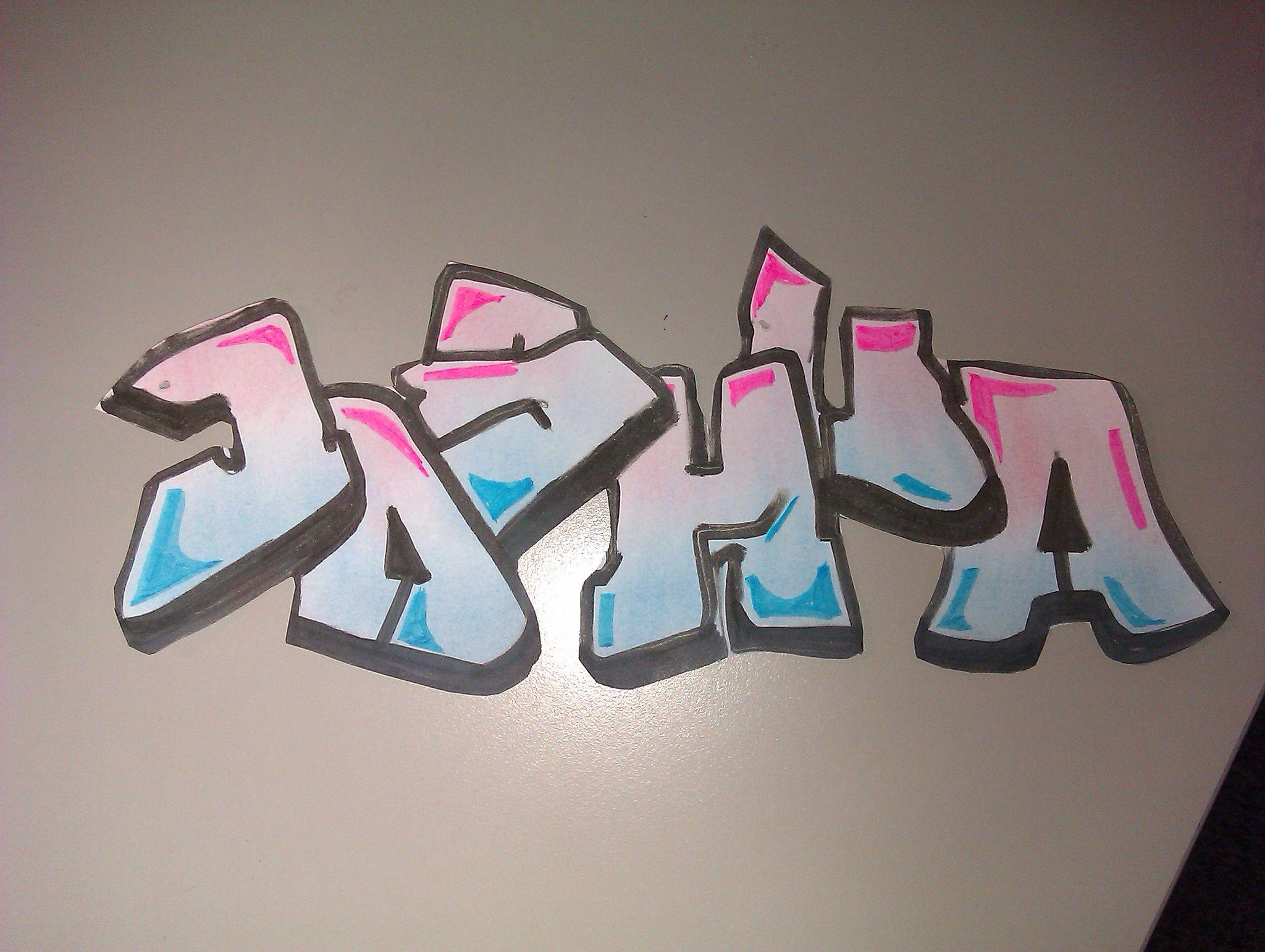 Картинки граффити имен