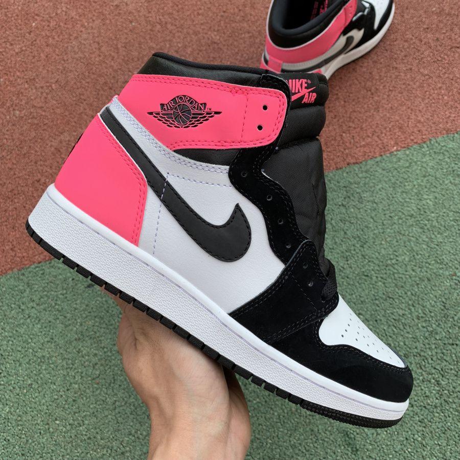 all pink jordan 1s