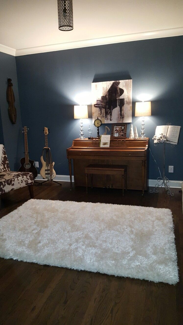 Pic 3 Of Music Room Paint Is Sw Waterloo Home Decor Home Dream Living