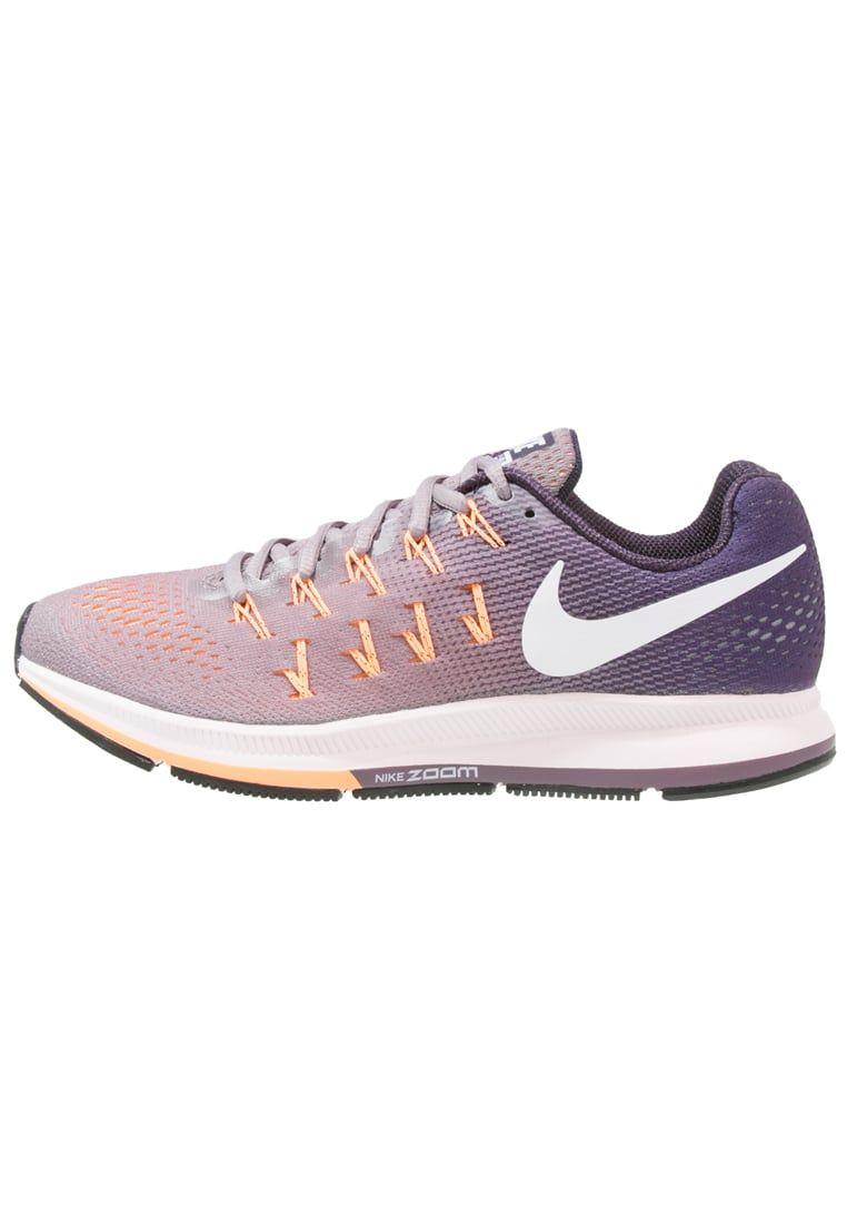 Formación Cuatro aumento  Cómpralo ya!. Nike Performance AIR ZOOM PEGASUS 33 Zapatillas neutras  purple smoke/white/purple dynasty/peach crea… | Nike, Precios de  zapatillas, Deportivas mujer