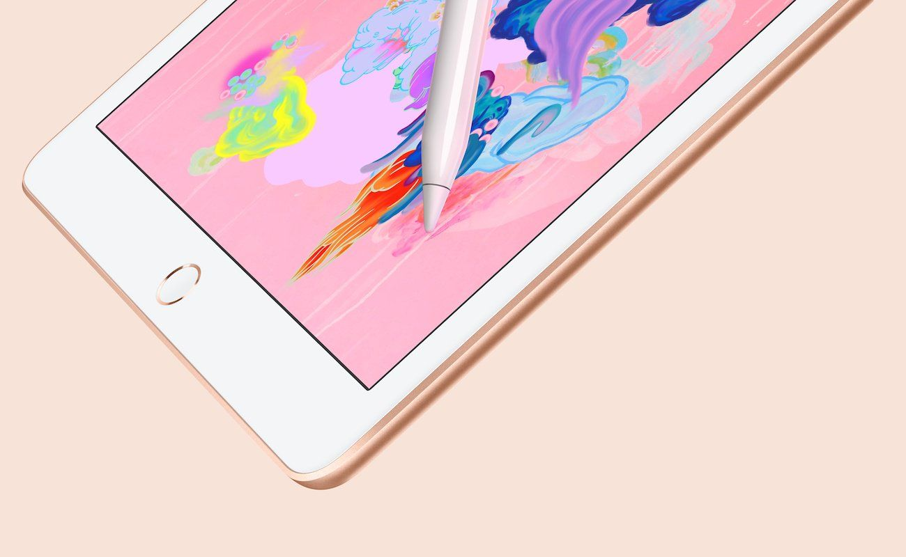 Apple 97inch ipad with pencil support