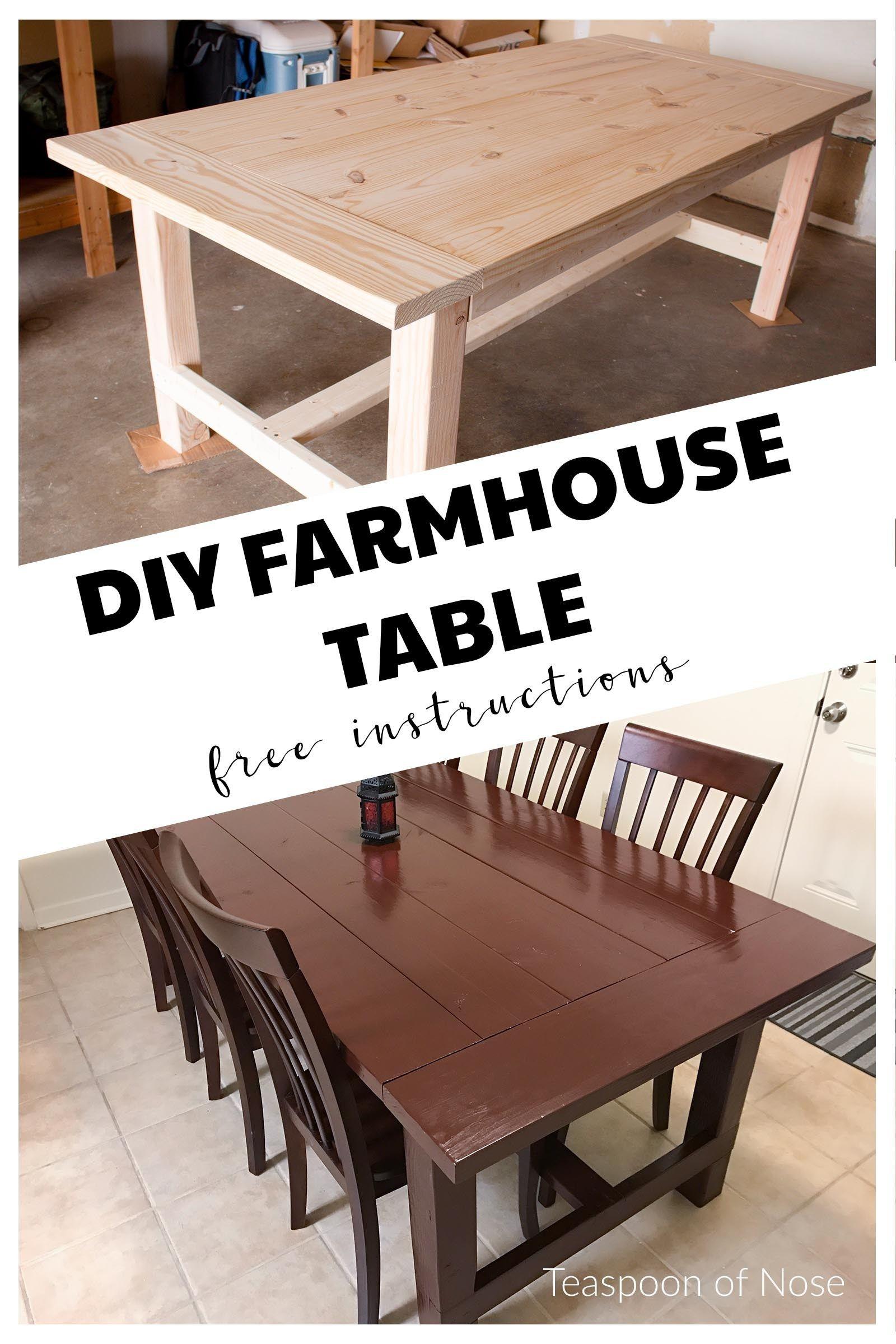 diy farmhouse kitchen table farmhouse kitchen tables build a farmhouse table farmers table on farmhouse kitchen table diy id=88469