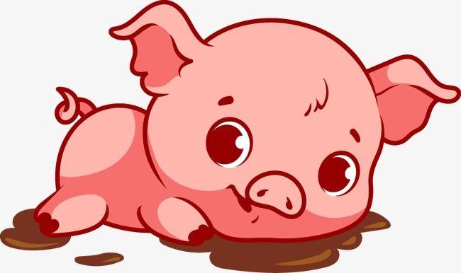 Cartoon Pig Vector Clipart Pig Vector Cartoon Clip Art Pig Cartoon