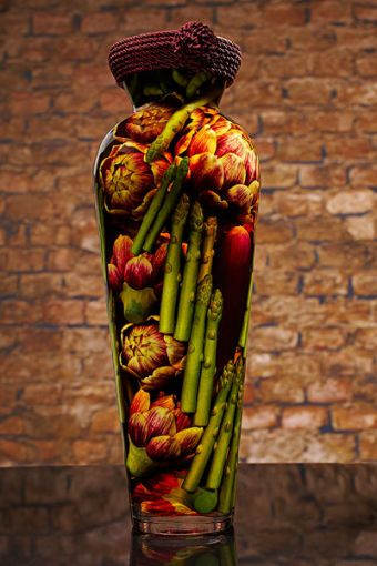 Sarabella Tuscan Art, Artichokes Eggplants and Asparagus