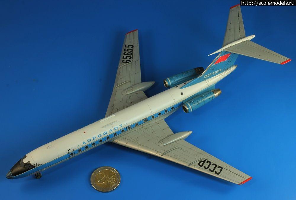 Estrella 1/144 Tu-134A Blue Bird