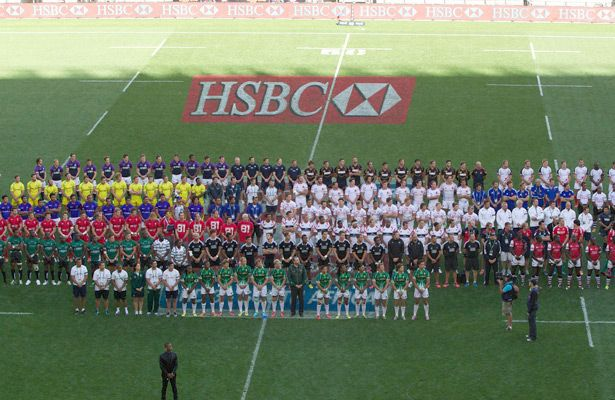All 16 Teams At The Cell C Nelson Mandela Bay South Africa Sevens