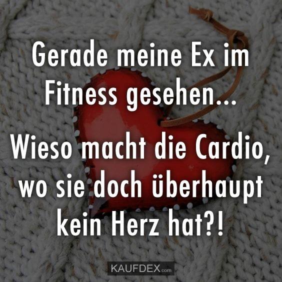 Gerade meine Ex im Fitness gesehen | Kaufdex - Lustige