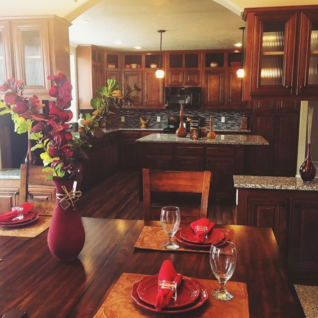 The tones of this home are so warm and welcoming! #claytonhomes #home…