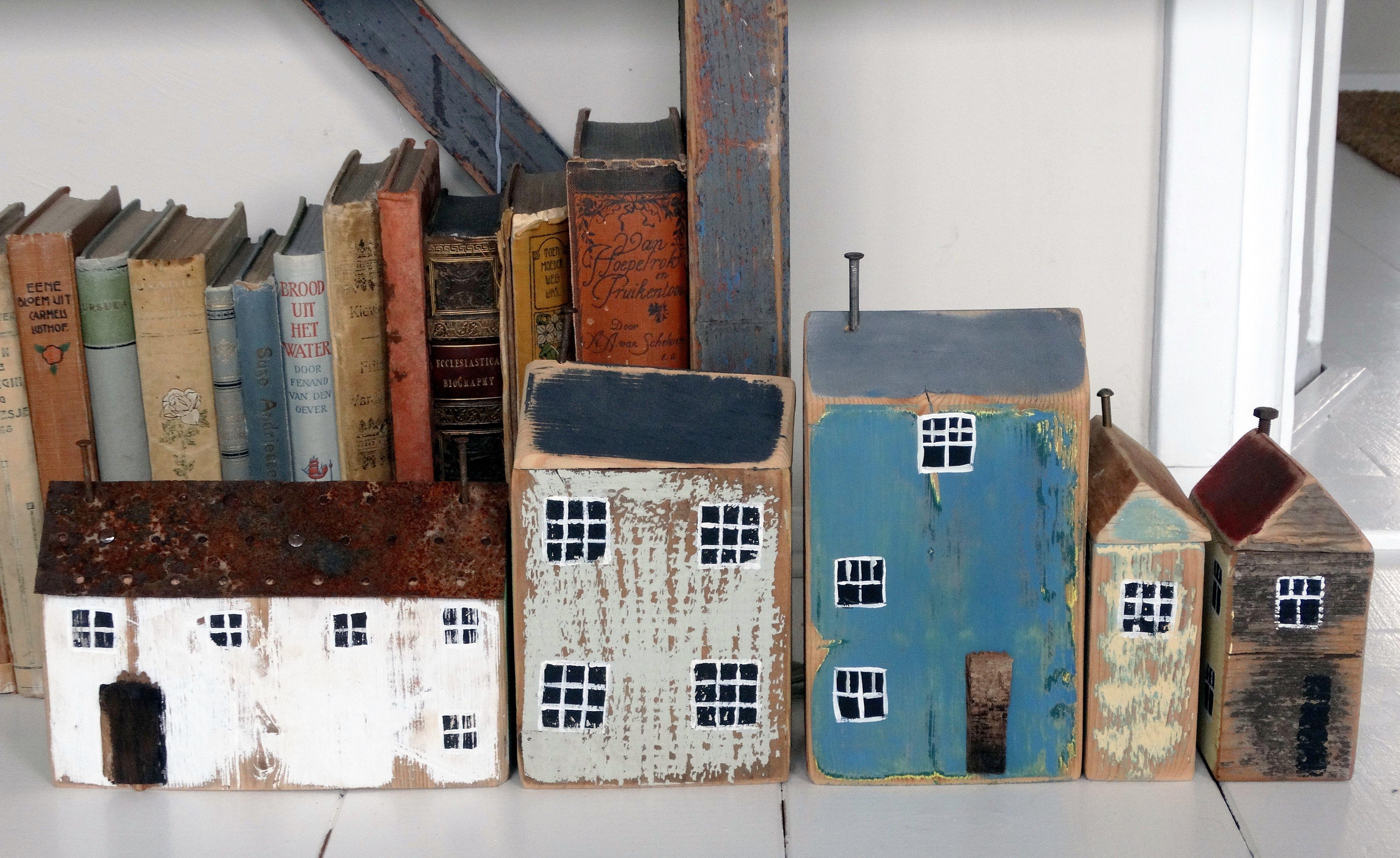 maria 39 s huisjes mini houses pinterest treibholz holz und haus. Black Bedroom Furniture Sets. Home Design Ideas