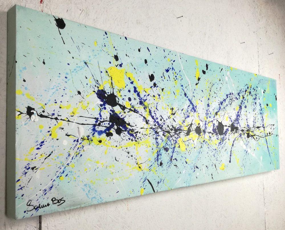 quadro astratto moderno olio su tela misura 140x50 cm per info: http ...