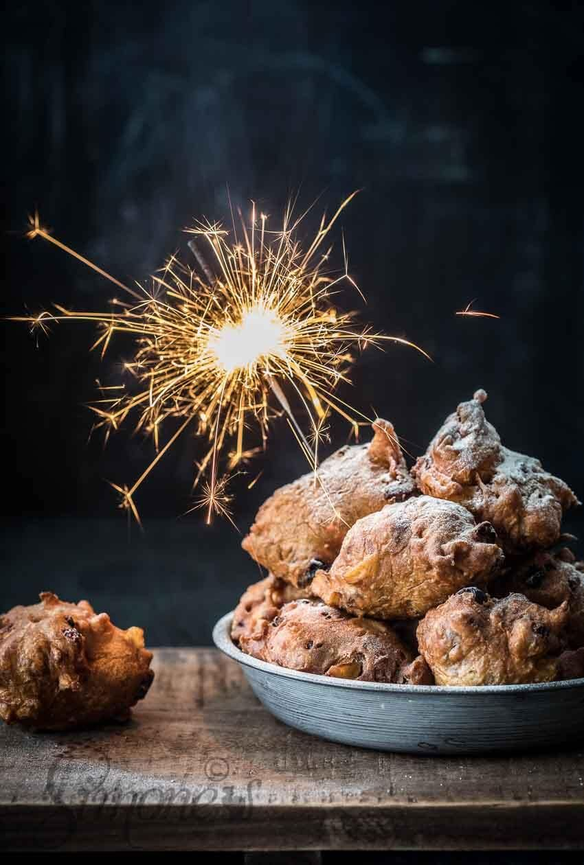 Appel-kaneel oliebollen met cranberries | Simone's Kitchen