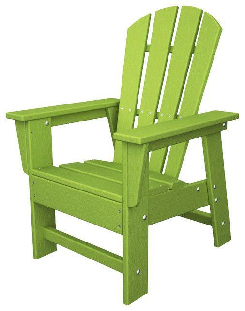 Green Plastic Adirondack Chairs