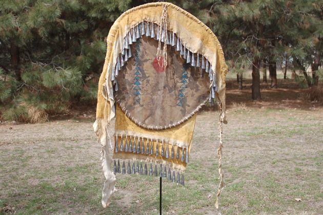 Native American war shield