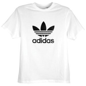 adidas Originals Trefoil S/S Logo T-Shirt - Men's - Small white/