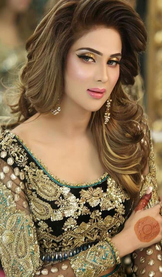 Fiza Ali Celebraties Pakistani Bridal Makeup Makeup