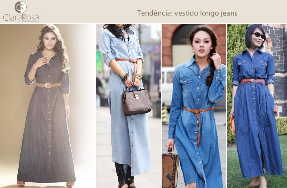Jeans é um tecido democrático e atemporal. Invista em longos jeans para esse inverno e saia com um visual despojado e elegante!
