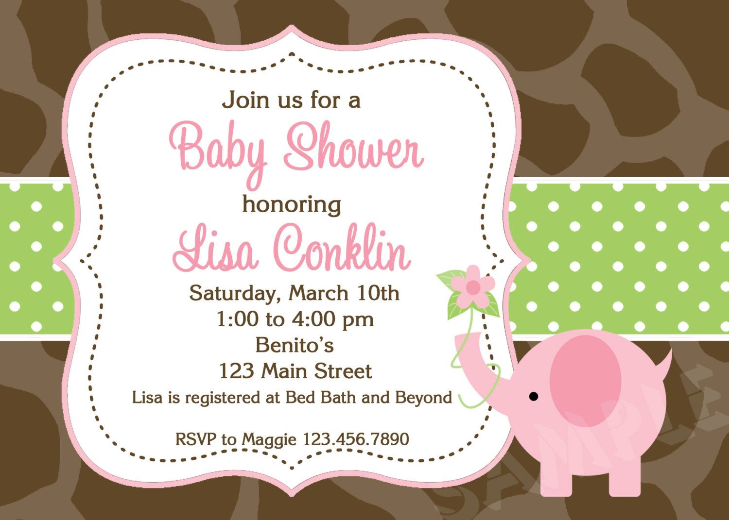 Create Make Your Own Baby Shower Invitations Ideas Saset