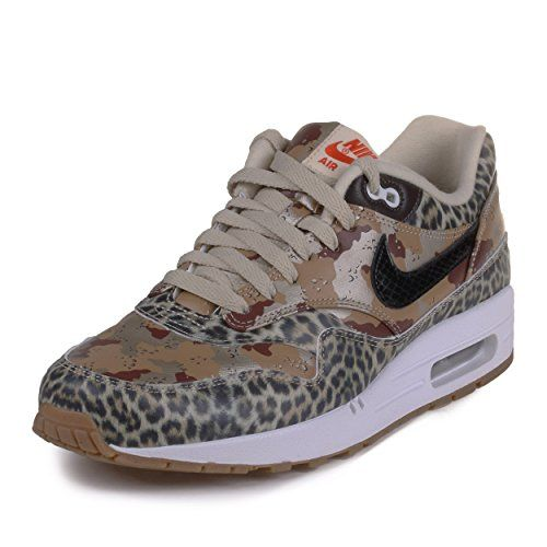 online store dcca3 6fed3 Nike Womens Atmos WMNS Air Max 1 PRM Tiger Leopard Camo Metallic  GoldSilkBlackClassic Brown Synthetic Size 11 -- See this great product by  click affiliate ...