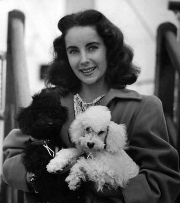 Elizabeth Taylor and friend