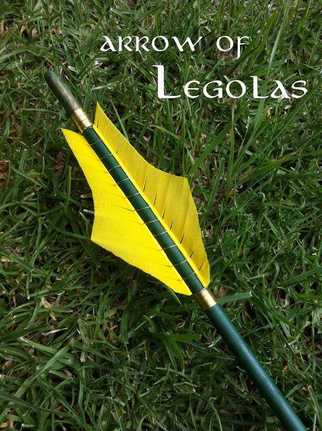 Arrow of Legolas | Bow, arrow diy, Legolas, Legolas costume