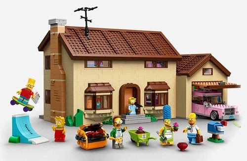 TOYSREVIL: LEGO 'The Simpsons' House Set To Release Feb 1.2014