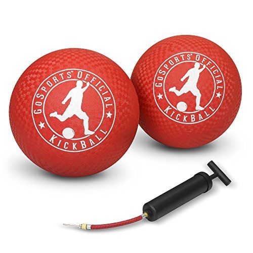 "GoSports Official Kickball with Pump (2 Pack), 10"" GoSports https://www.amazon.com/dp/B01G3J3238/ref=cm_sw_r_pi_dp_x_K6obyb8CHY9PX"