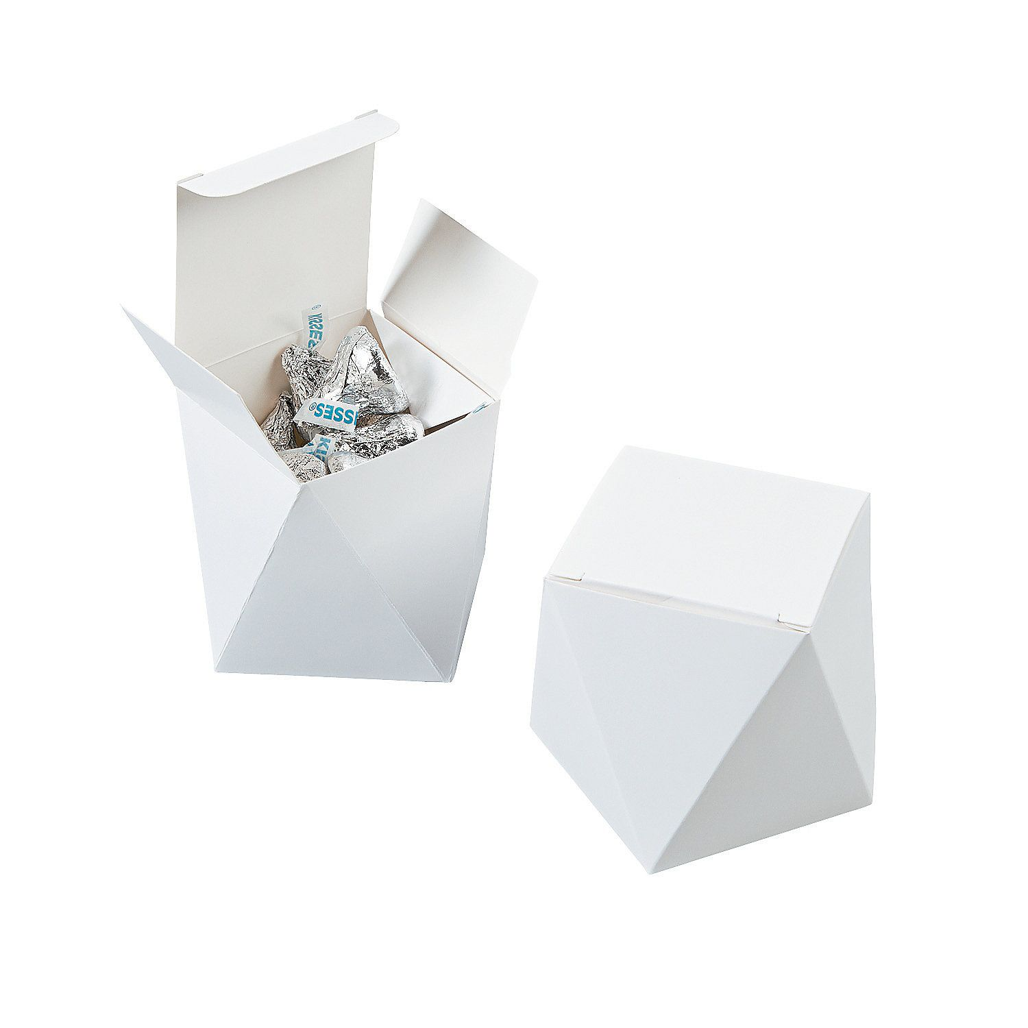 White Wedding Favor Boxes - OrientalTrading.com | W~ purchases ...
