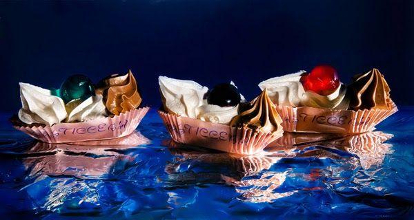 Hyper Realistic Food Paintings   Luigi Benedicenti