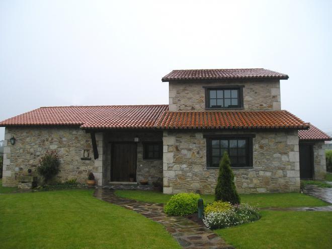 Pin de severino en casa casas casas de campo y casas r sticas - Modelos de casas de piedra ...