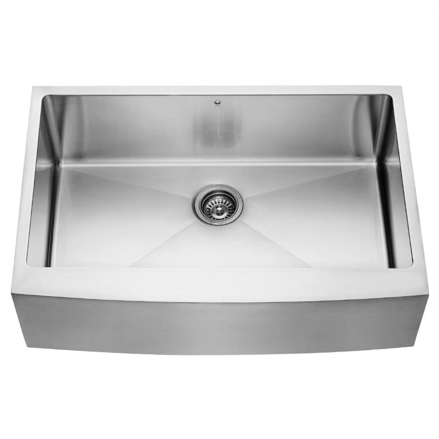 Vigo All In One 33 In Bedford Stainless Steel Single Bowl