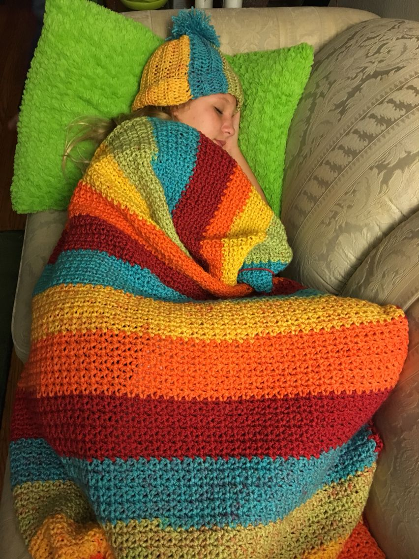 Caron Cake Yarn, Crochet, Blanket, Afghan, ribbed beanie, yarn, FB ...